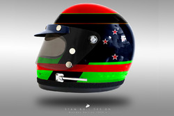 Casco concepto 1970 de Brendon Hartley