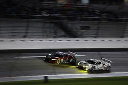 #63 Scuderia Corsa Ferrari 488 GT3, GTD: Cooper MacNeil, Alessandro Balzan, Gunnar Jeannette, Jeff Segal, #69 HART Acura NSX GT3, GTD: Chad Gilsinger, Ryan Eversley, Sean Rayhall, John Falb
