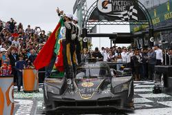 #5 Action Express Racing Cadillac DPi, P: Joao Barbosa, Christian Fittipaldi, Filipe Albuquerque Celebrate Win
