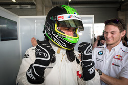 Pole sitters Chaz Mostert, Marco Wittmann, BMW Team Schnitzer