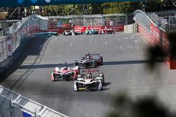 Daniel Abt, Audi Sport ABT Schaeffler Nick Heidfeld, Mahindra Racing, Mitch Evans, Jaguar Racing