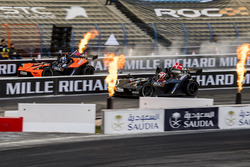 David Coulthard alla guida della KTM X-Bow Comp R batte Tom Kristensen