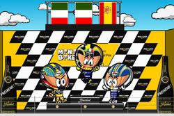 El GP de Sudáfrica 2004 de MotoGP según los MiniBikers