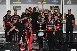 Austin Dillon, Richard Childress Racing Chevrolet Camaro and team celebrate in victory lane