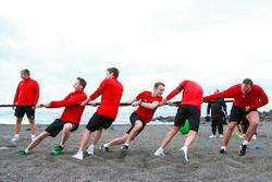 Dieter Gass, René Rast, Robin Frijns, Jamie Green, Nico Müller, Thomas Biermaier