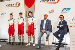 Симо Лааксонен, Леонардо Пульчини и Лука Гьотто, Campos Racing
