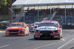 Richie Stanaway, Tickford Racing Ford, Fabian Coulthard, DJR Team Penske Ford