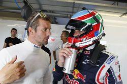 Sébastien Loeb et Alvaro Parente