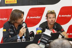 Conférence de presse pour Sébastien Loeb