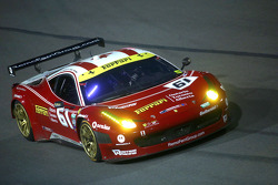 #61 R.Ferri/AIM Motorsport Racing com Ferrari Ferrari 458: Ken Wilden, Jeff Segal