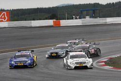 Gary Paffett, Mercedes AMG DTM-Team HWA DTM Mercedes AMG C-Coupe, Pascal Wehrlein, Mercedes AMG DTM-