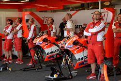 Área del equipo Ducati