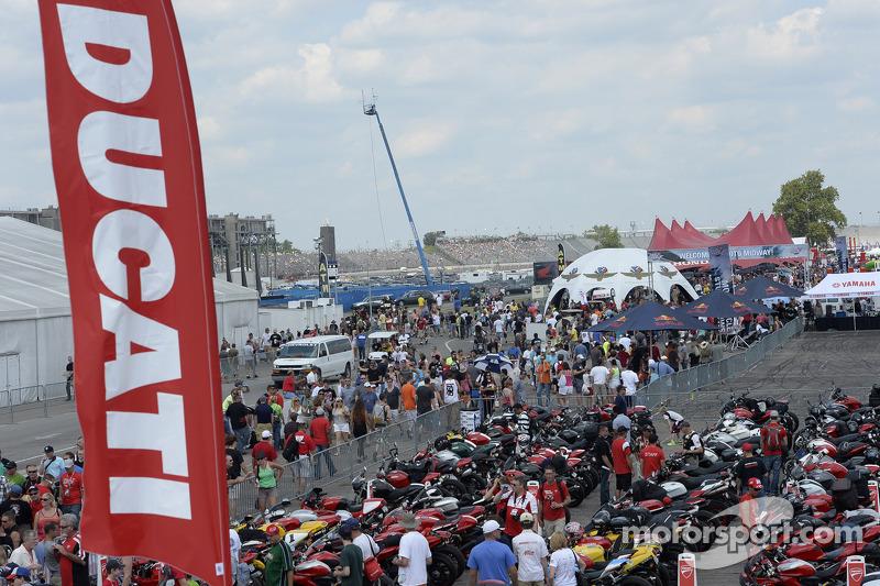 Ducati fan area