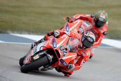 Andrea Dovizioso y Nicky Hayden, Ducati Team
