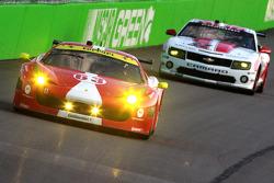 #63 Scuderia Corsa Ferrari 458: Leh Keen, Alessandro Balzan