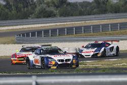 Аллам Ходаир и Карлос Буэно. Словакия, воскресная гонка чемпионата.