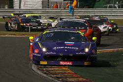 #72 SMP Racing Ferrari 458 Italia: Sergey Zlobin, Luca Persiani, Anton Ladygin, Fabio Babini