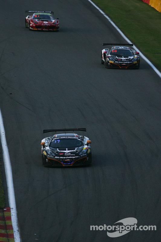 #5 Boutsen Ginion McLaren MP4-12C: Frederic Vervisch, David Dermont, Koen Wauters, Grégory Guilvert
