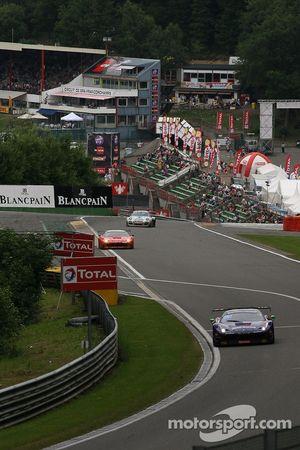 #73 SMP Racing Ferrari 458 Italia: Mikhail Aleshin, Devi Markozov, Alexander Frolov, Daniil Move