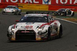 #35 Nissan GT Academy Nissan GT-R Nismo GT3: Lucas Ordoñez, Jann Mardenborough, Peter Pyzera, Wolfga