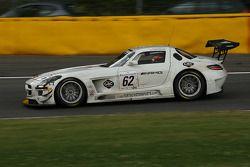 #62 Fortec Motorsport Mercedes SLS AMG GT3: Karl Wendlinger, Oll Webb, Alex Brundle