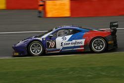 #70 SMP Racing Ferrari 458 Italia: Alexey Basov, Matteo Bobbi, Alessandro Pier Guidi, Alexander Skry