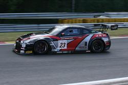 #23 JRM Nissan GT-R Nismo GT3: Lucas Luhr, Steven Kane, Peter Dumbreck
