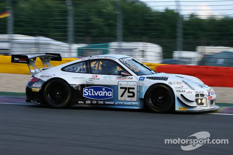 #75 Prospeed Competition Porsche 997 GT3 R: Marc Hennerici, Xavier Maassen, Maxime Soulet