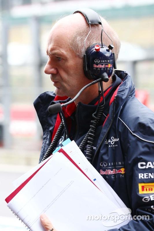 Adrian Newey, Red Bull Racing, engenheiro chefe