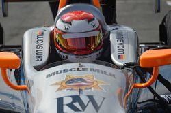 Lucas Luhr, Sarah Fisher/Hartman Racing