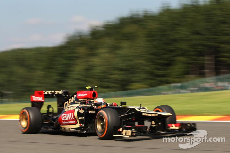 Romain Grosjean, Lotus F1 E21/