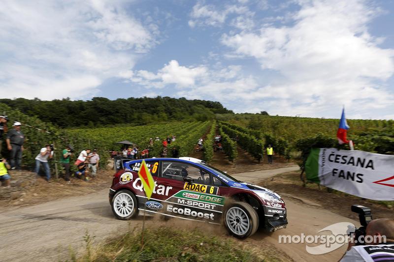 Nasser Al-Attiyah, Giovanni Bernacchini, Ford Fiesta WRC Qatar M-Sport World Rally Team