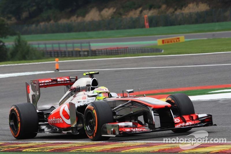 50 grand prix weekends for Perez in Belgium