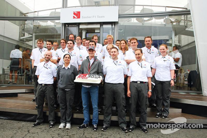 Hulkenberg's 50th GP landmark in Belgium