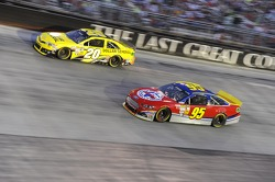 Matt Kenseth, Joe Gibbs Racing Toyota and Scott Speed, Ford