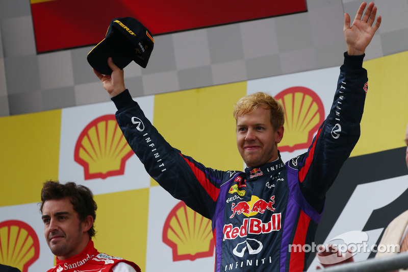 1e plaats Sebastian Vettel, Red Bull Racing