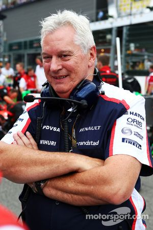 Pat Symonds, Williams director técnico en la parrilla