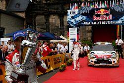 Vencedor Dani Sordo, Citroen DS3 WRC #3, Citroen Total Abu Dhabi World Rally Team