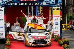 Dani Sordo, Carlos del Barrio, Citroën DS3 WRC #3, Citroën Total Abu Dhabi World Rally Team