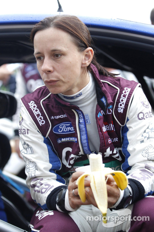 Ilka Minor, Ford Fiesta WRC #5 Qatar M-Sport World Rally Team