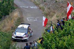 Elfyn Evans, Daniel Barrit, Ford Fiesta WRC nº 75 Qatar M-Sport World Rally Team