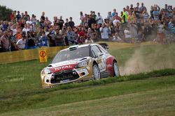 Mikko Hirvonen, Jarmo Lehtinen, Citro_én DS3 WRC #2, Citro_én Total Abu Dhabi World Rally Team
