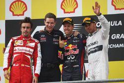 Fernando Alonso, Ferrari, second