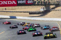 Départ à Sonoma Raceway
