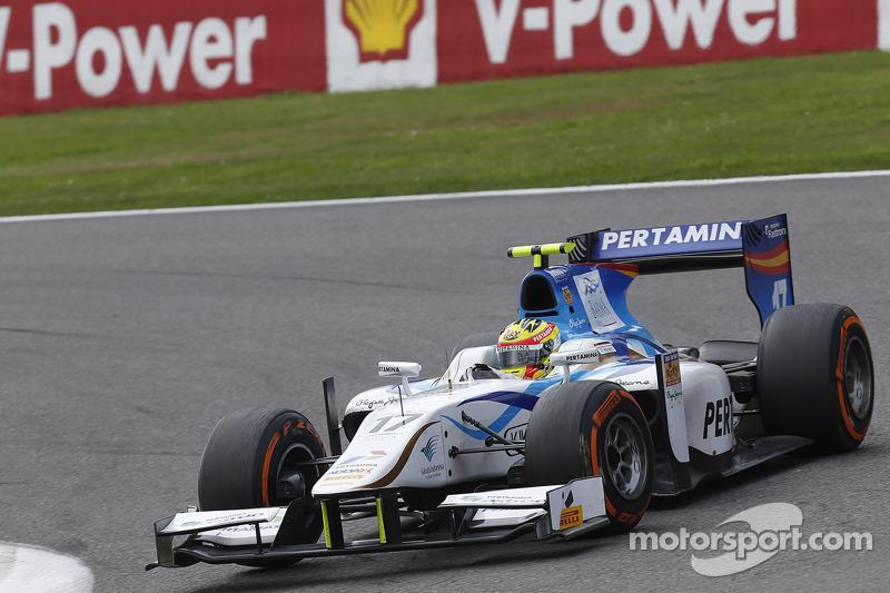 2013: Dallara GP2/11 Mecachrome, GP2