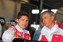 Marco Werner, Christopher Mies, Markus Winkelhock, Audi race experience, Audi R8 LMS ultra, Portrait