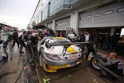 Michael Zehe, Marko Hartung, Nico Bastian, ROWE RACING, Mercedes-Benz SLS AMG GT3