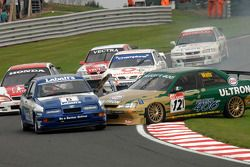Patrick Watts, Peugeot 406 et Paul Smith, Ford Sierra RS500
