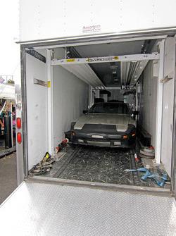 Car in hauler