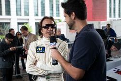 Emerson Fittipaldi, Parade van FIA WEC-auto's en rijders bij MASP